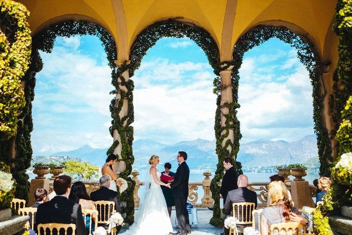 Rebecca And Elijah S Destination Lake Como Italy Wedding Ceremony Took Place At Villa Del Balbianello See Their Gorgeous Photos By The Goodness On
