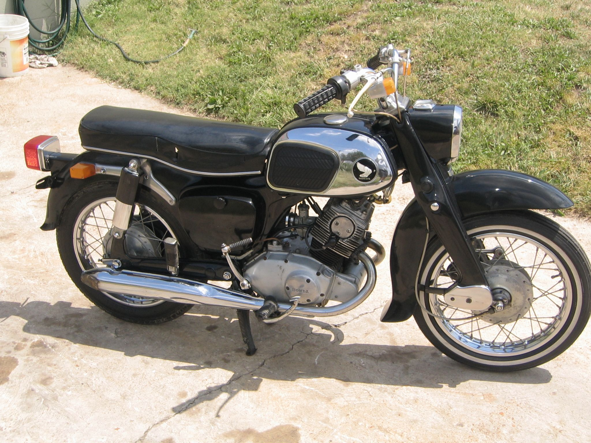 1966 Honda Benly 160 Motorcycles Cars And Trucks