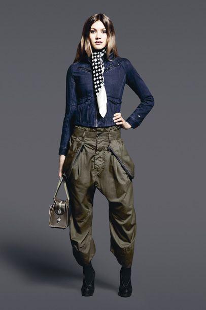 2468a83edd7e G-Star RAW Womens  2011-2012 Fall Winter Collection  Designer Denim Jeans  Fashion  Season Lookbooks