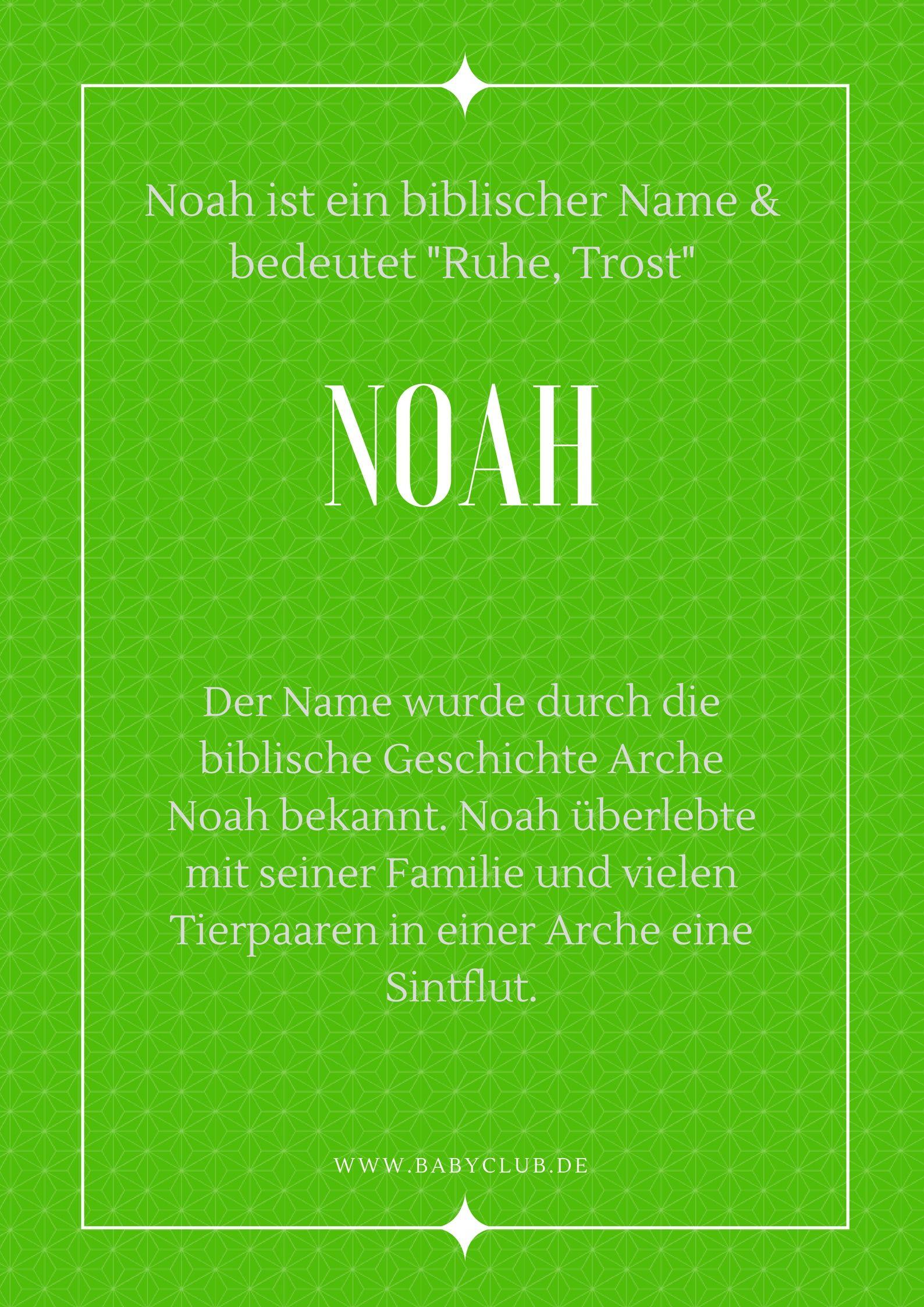 Noah Jungenname