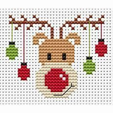 Photo of Image result for Easy Christmas Cross Stitch Patterns