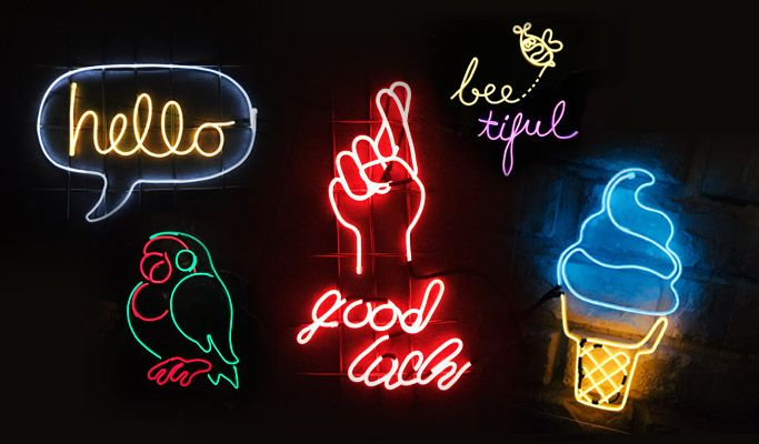Make Your Own Neon Light In Hongdae Neon Signs Neon Signs Quotes Neon Light Signs