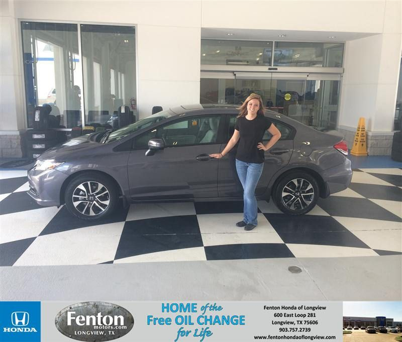 Congratulations To Destiny Goff On Your #Honda #Civic
