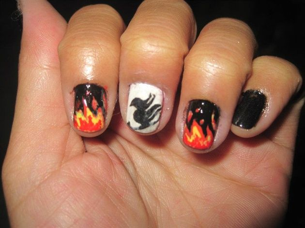 Fairy Tail Nails Nail Art Gallery By Magazine