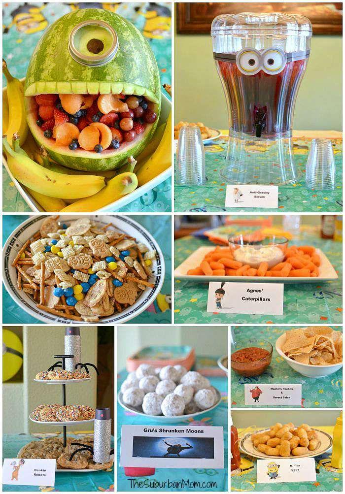 Minion Birthday Party HELLOWEEN Pinterest Birthdays