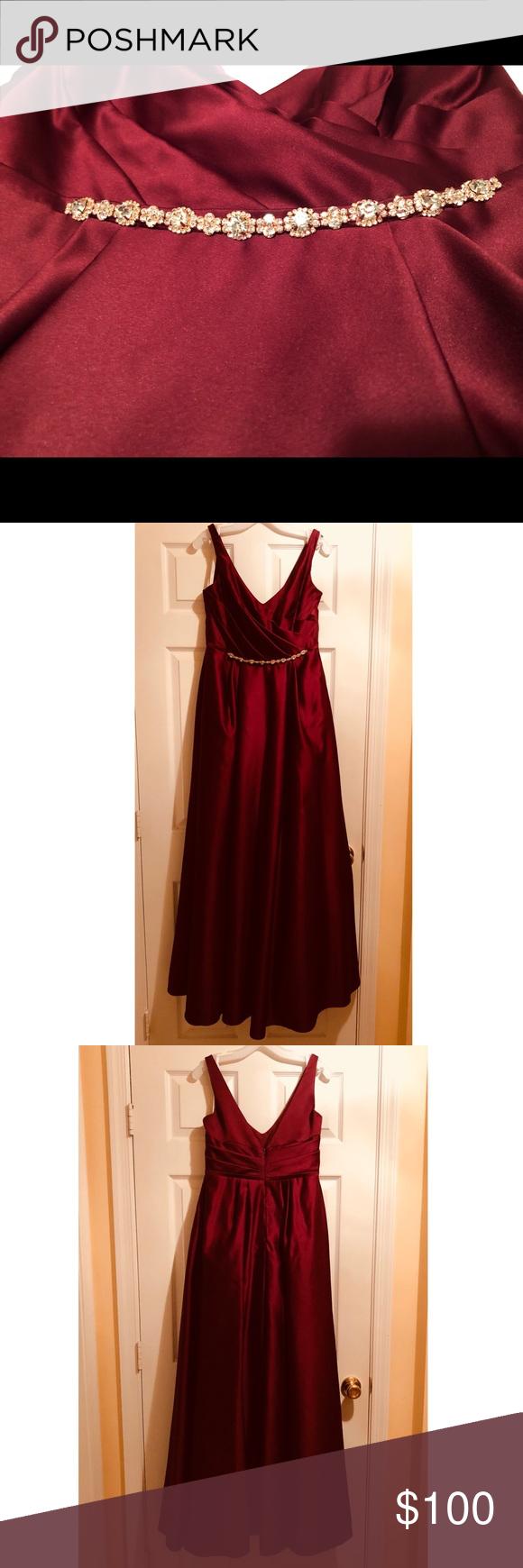 Ballroom gown bridesmaid dress ballroom gowns wine dress and