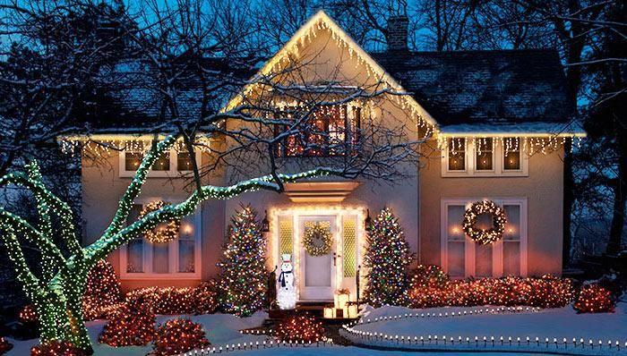Outdoor Holiday Lighting Ideas Exterior Christmas Lights Outdoor Christmas Lights Decorating With Christmas Lights