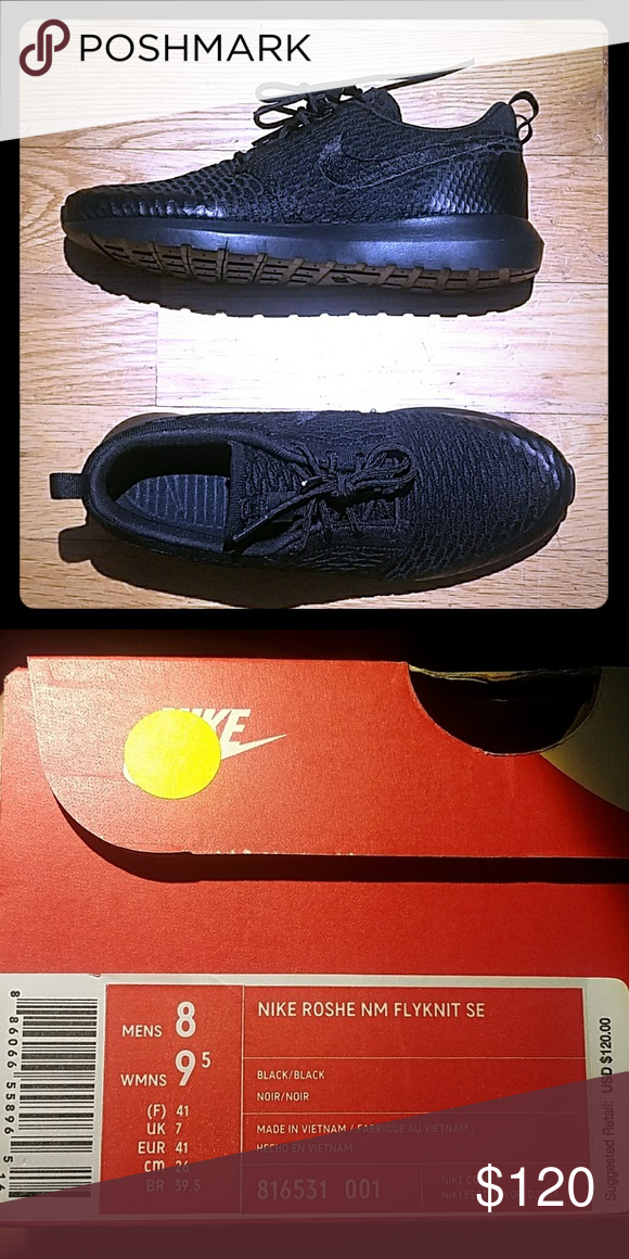 low priced 7f1eb 48817 Nike Roshe NM flyknit SE size 8 sneaker Brand new Size 8 Nike Shoes Sneakers