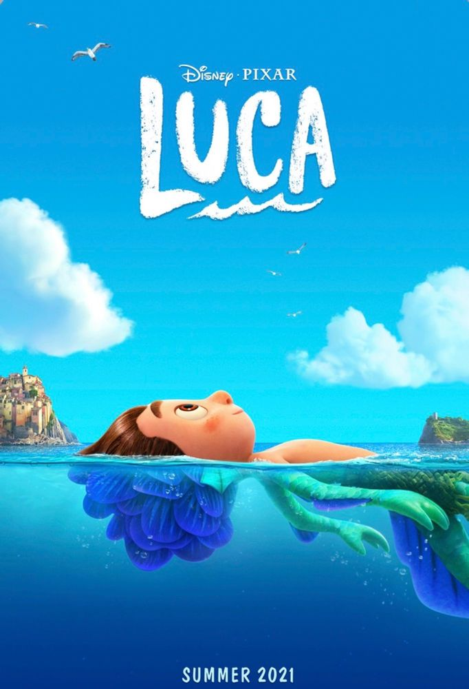 """DISNEY AND PIXAR'S """"LUCA""""—TEASER TRAILER NOW AVAILABLE, PLUS VOICE CAST REVEALED!"""