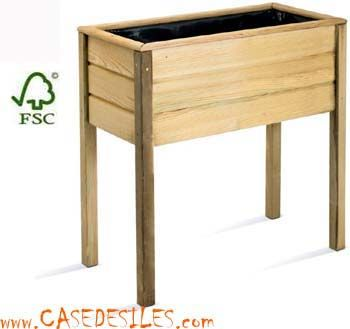 jardiniere sur pied en bois recherche google. Black Bedroom Furniture Sets. Home Design Ideas