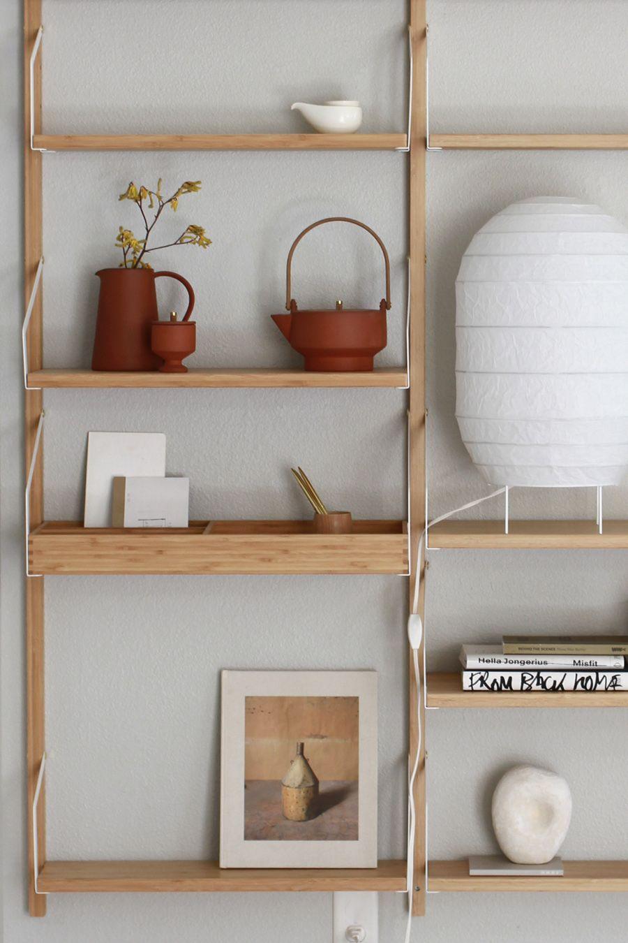Lovely Ikea Wall Mounted Shelving Unit