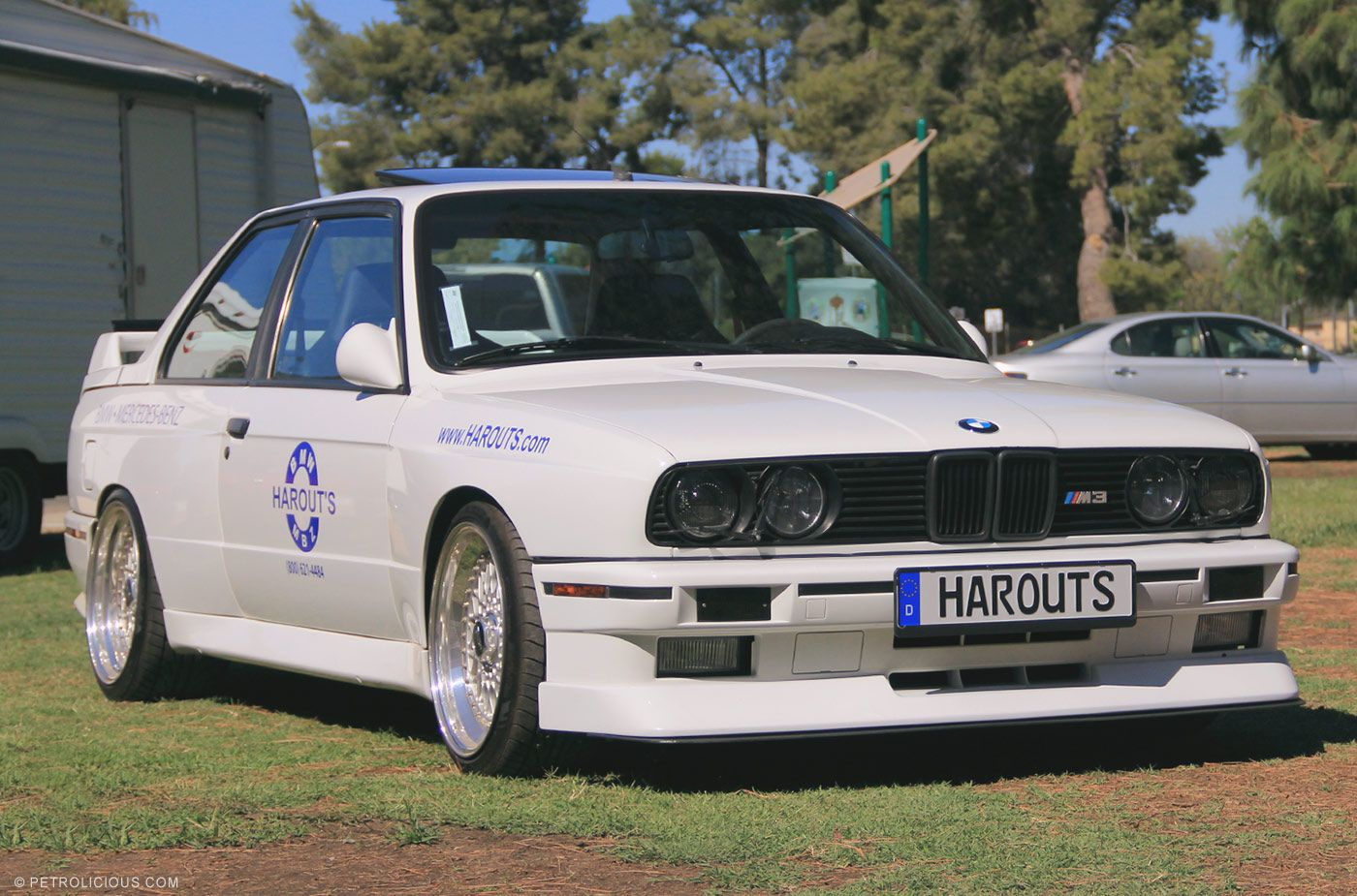Throwbackthursday Harouts Bmw And Mbz Used Auto Parts E30 M3 At Last Year S Socal Vintagebmw Meet Pc Petrolicious Bmw E30 Bmw Bmw E30 M3