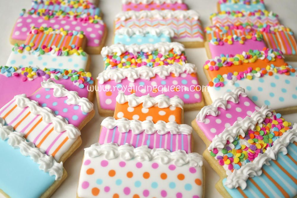 Birthday Cake Cookies Cookie Connection Cookie cake