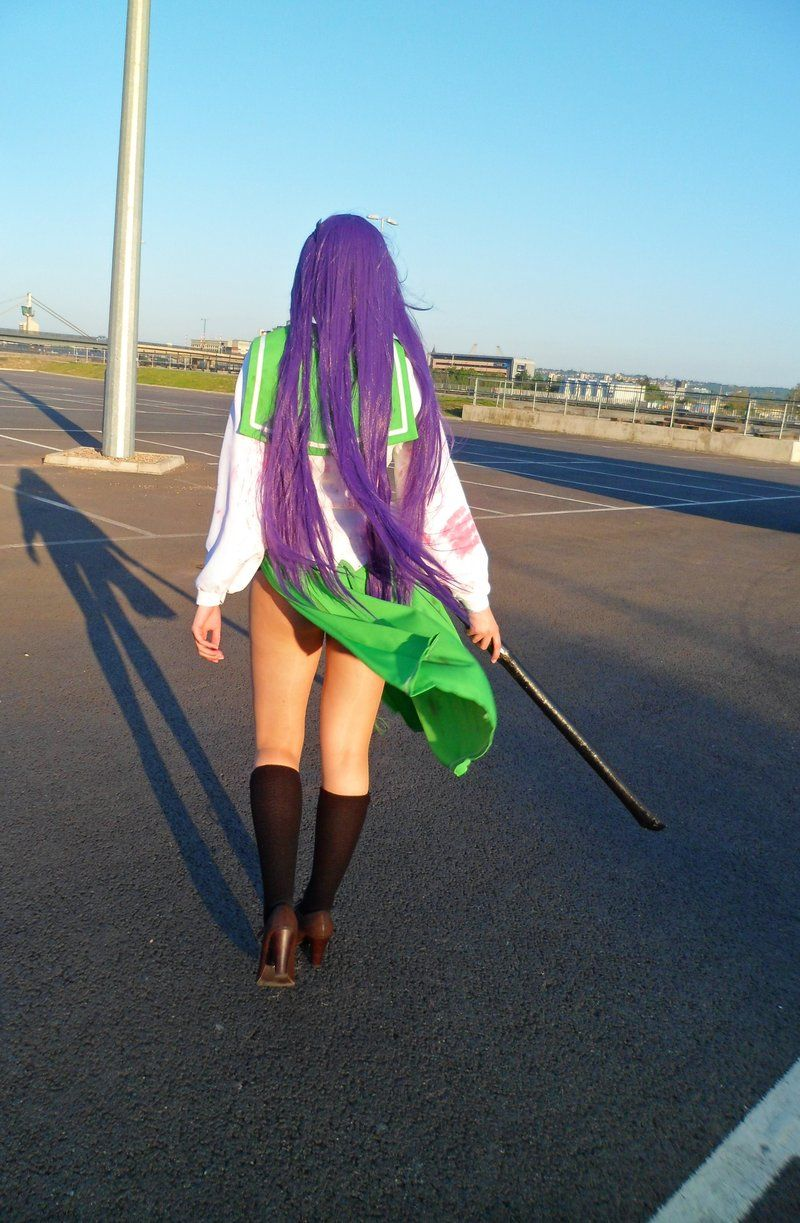 Saeko Busujima- Highschool of the Dead by JustPeachyCosplay.deviantart.com on @DeviantArt