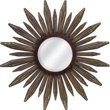 round mirror over bed? | Sunburst mirror, Mirror, Sunburst on Mirrors Next To Bed  id=50632