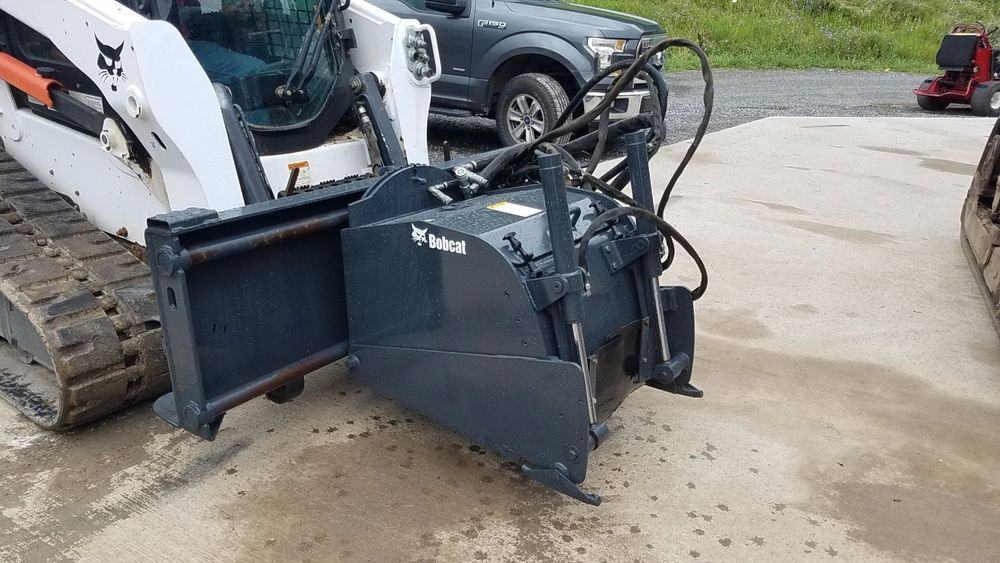Bobcat 24 hydraulic planer skid loader attachment high