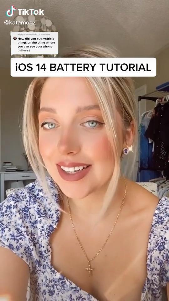 Ios 14 Battery Tutorial Ios14hacks Video App Icon Design Ios Design Ios Icon