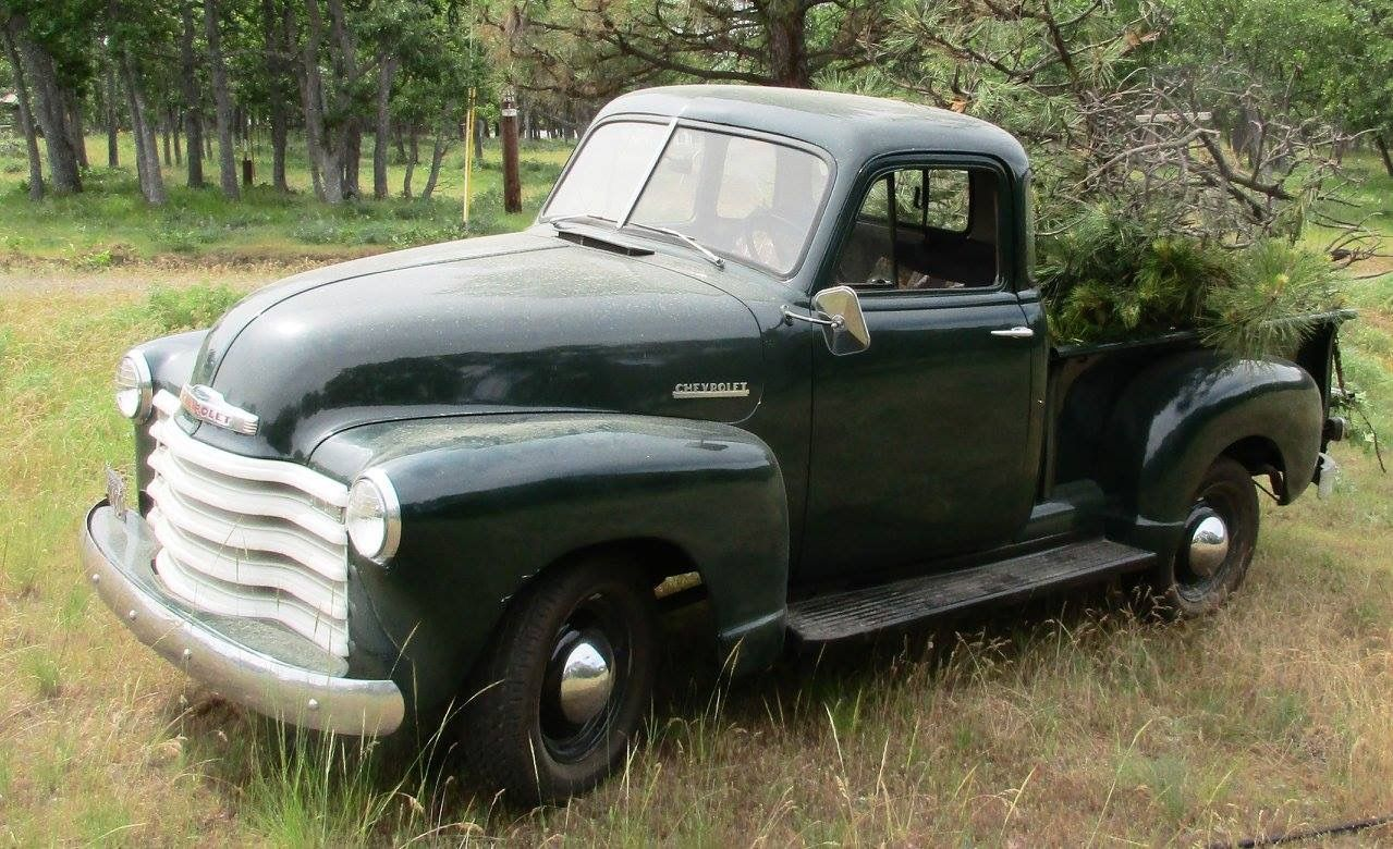 Pin By Alberto On Old Trucks In 2020 Old Pickup Trucks Chevy Trucks 54 Chevy Truck