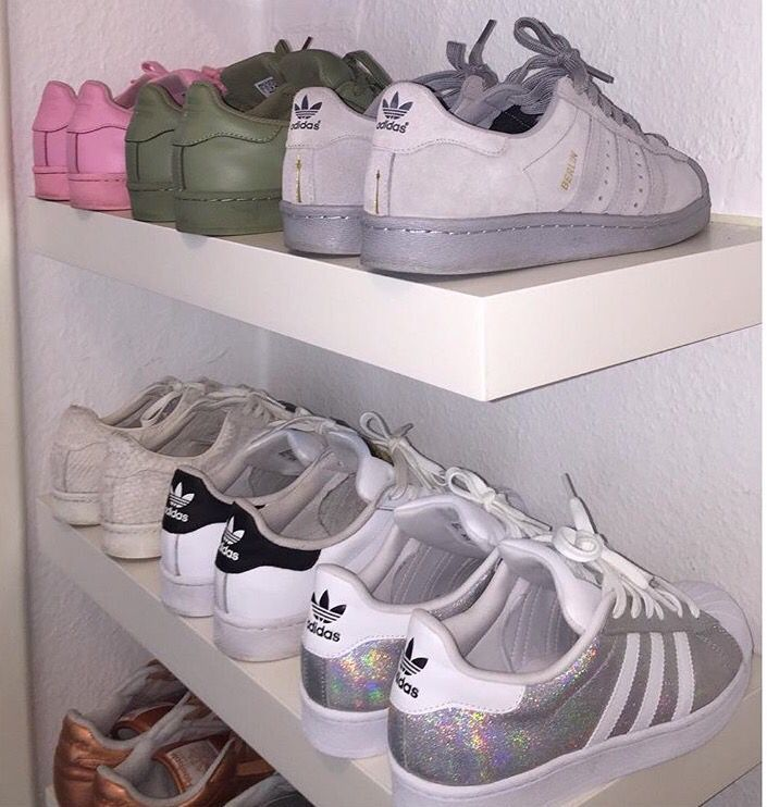 Adidas classici collezione di scarpe da ginnastica / / appuntato @ benitathediva, diy