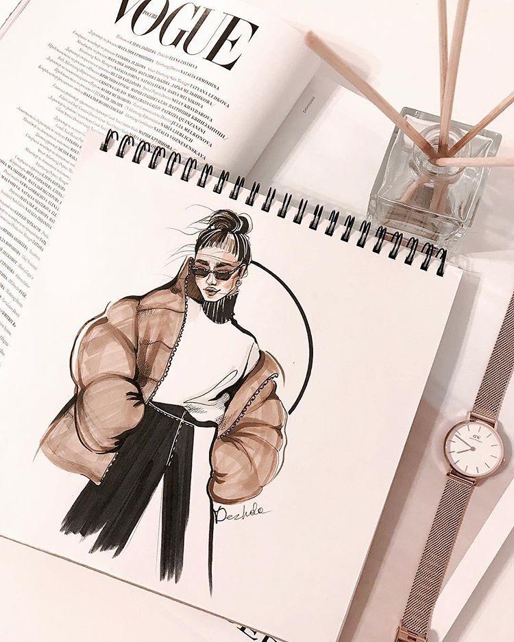 """Fashion illustrator / designer on Instagram: """"Каждый раз-как первый. ⠀ Практика –она всегда важна.  Любой художник меня сейчас поймет. ⠀ Когда садишься рисовать – то каждый раз - у тебя…"""""""