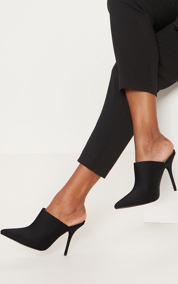 Black Point Toe Mule | Heels, Heels