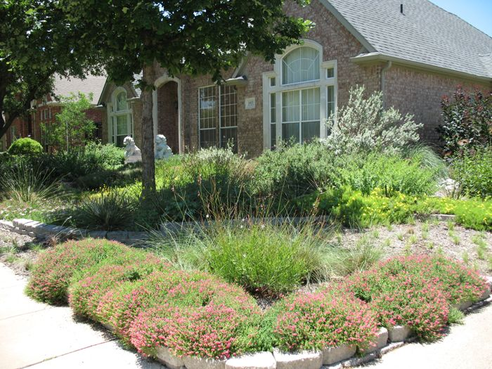 xeriscape yard ideas texas native landscaping texas landscape ideas front yard