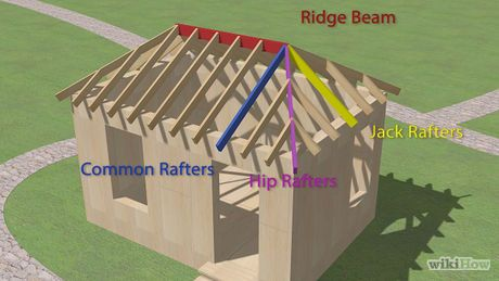 How To Build A Hip Roof Hip Roof Gazebo Roof Roof Framing