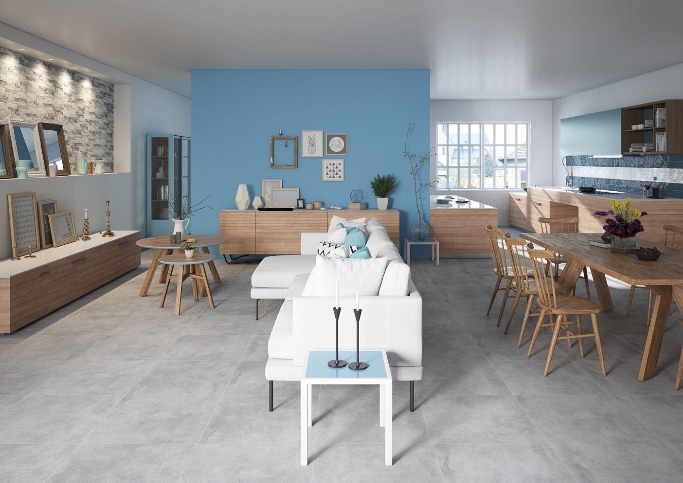 Salotto moderno e colorato, dal gusto minimale e nordico. Un ...