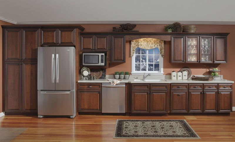 My New Cabinets Williamsburg Deluxe Sedona Kountry Wood