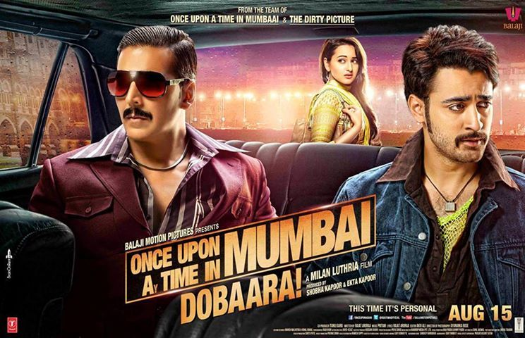 Once Upon Ay Time In Mumbai Dobaara! (2013) Review: Kumar Cannot Be Evil. Just Cannot Be.