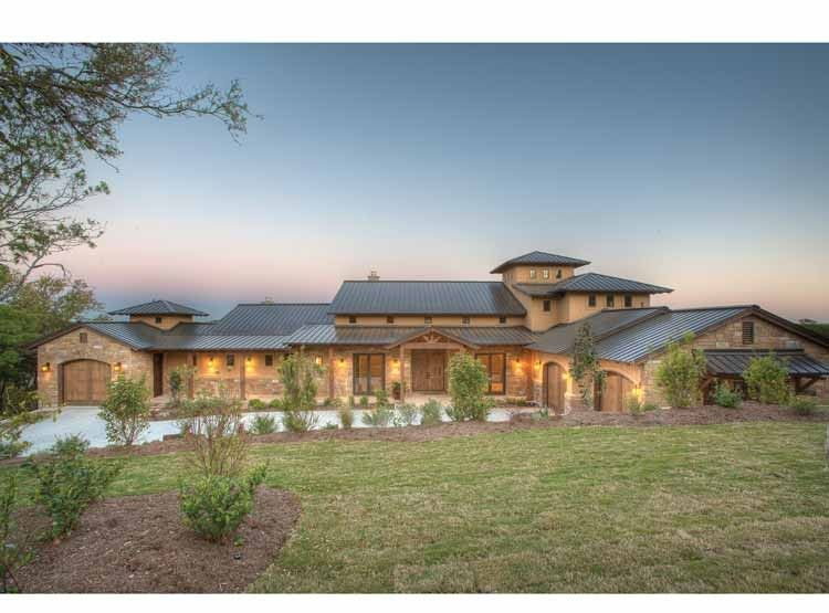 Eplans Prairie House Plan   Hill Country Fusion Home   4185 Square Feet And  4 Bedrooms(s) From Eplans   House Plan Code Includes Estimates To Build.
