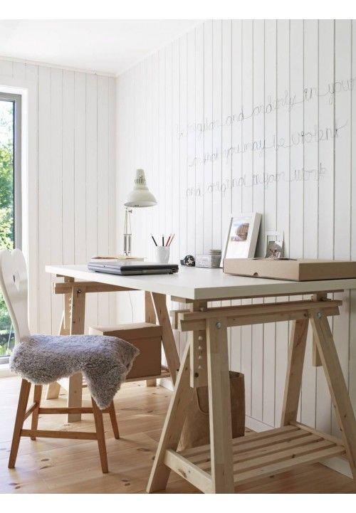 Carpet White Table Desk Modern Drafting Tables Home