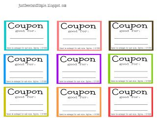 Chore Coupons Are Not Just For Mom And Dad Make A Commitment To