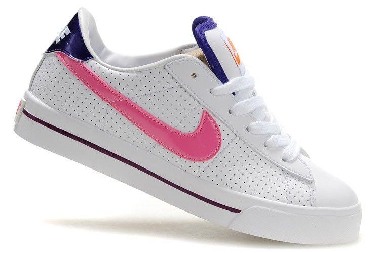 Dames Nike 902 Blazer Low Wit Roze Paars Oranje Bordeaux ...
