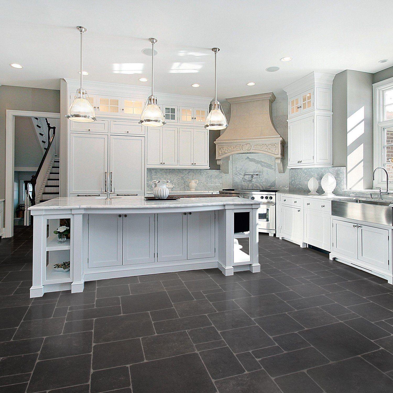 Black Linoleum Kitchen Flooring | Kitchen flooring trends ...