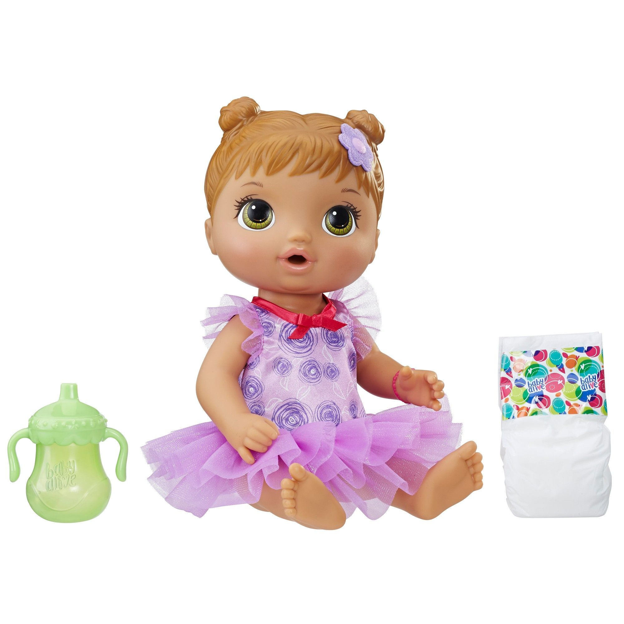 Baby Alive Dance Class Baby Brown Sculpted Hair Baby Alive Baby Alive Dolls Baby Dolls