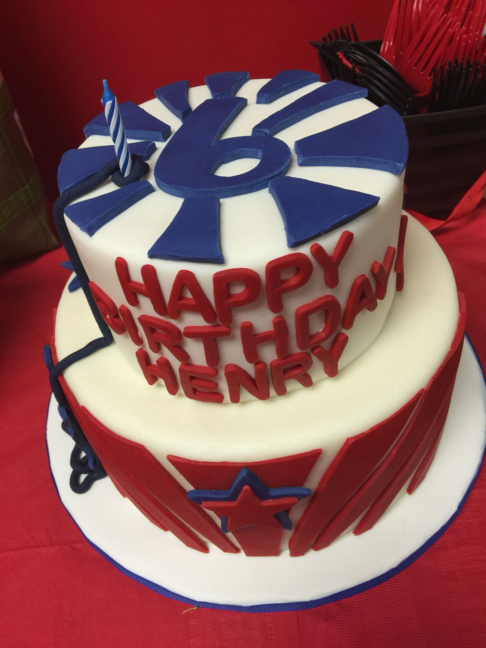American Ninja Warrior Cake Baking Make It Pretty Ninja