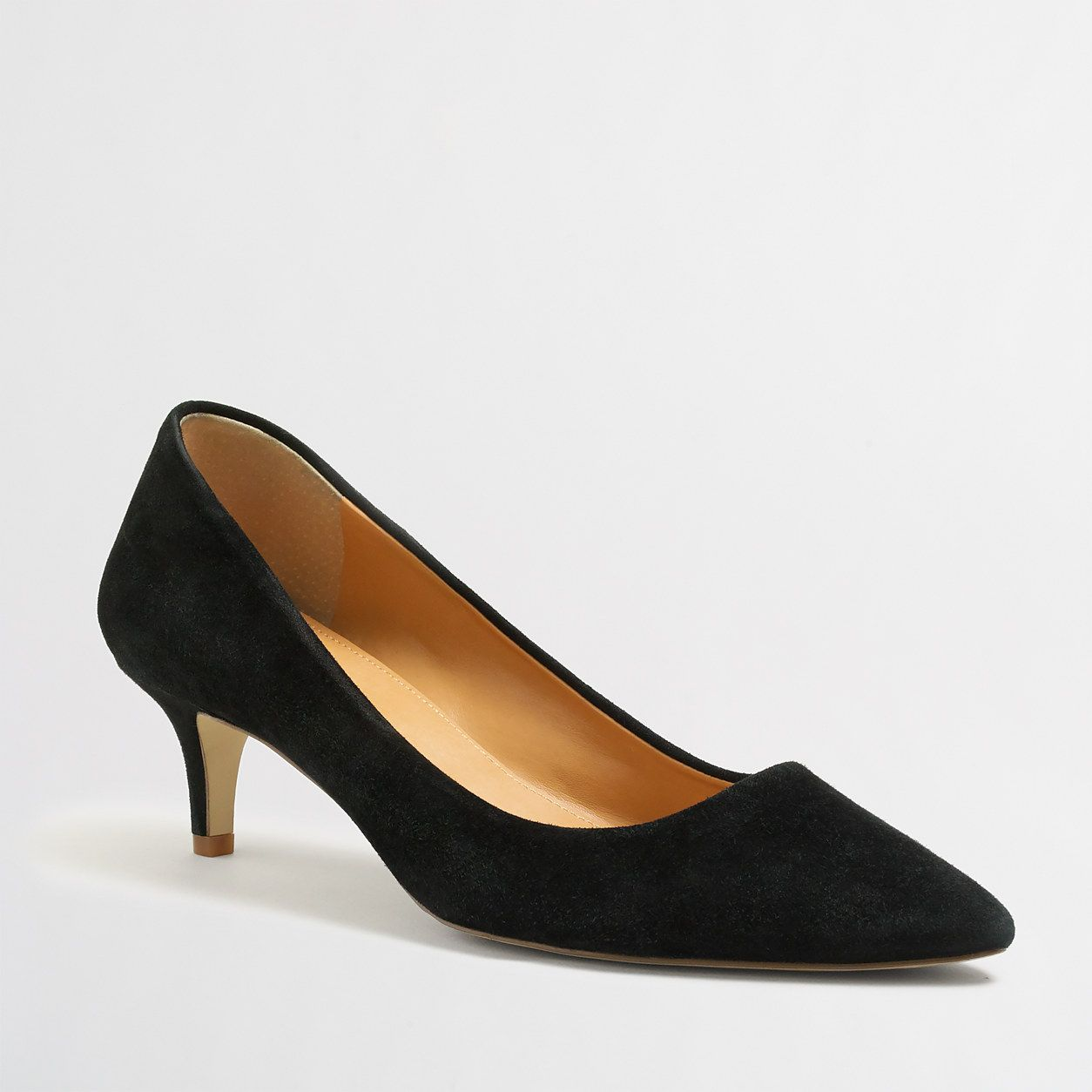 Esme Suede Kitten Heels Heels J Crew Factory Black Kitten Heels Heels Kitten Heels