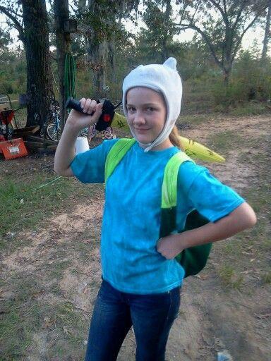 Homemade Finn costume!!