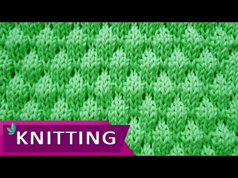 Knit-Purl Combinations: Pattern 3 - Herringbone Texture - Knitting ...