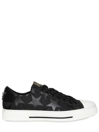 2014 newest cheap online Valentino Mens Black Canvas Perf... outlet low shipping fee shop offer sale online sale 2015 new 0bmXm