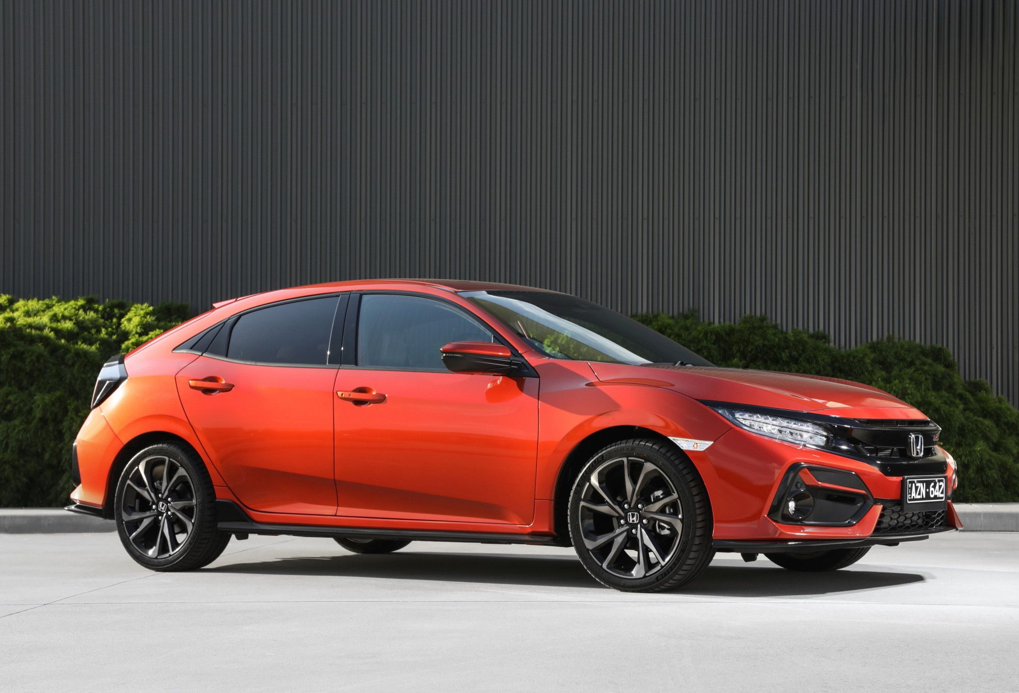The Redesigned 2020 Civic Hatch Gets Fresh Styling Upgraded Interior And Now The Sporty Rs Grade Is Back In The Line Up I Civic Honda Civic Hatch New Honda