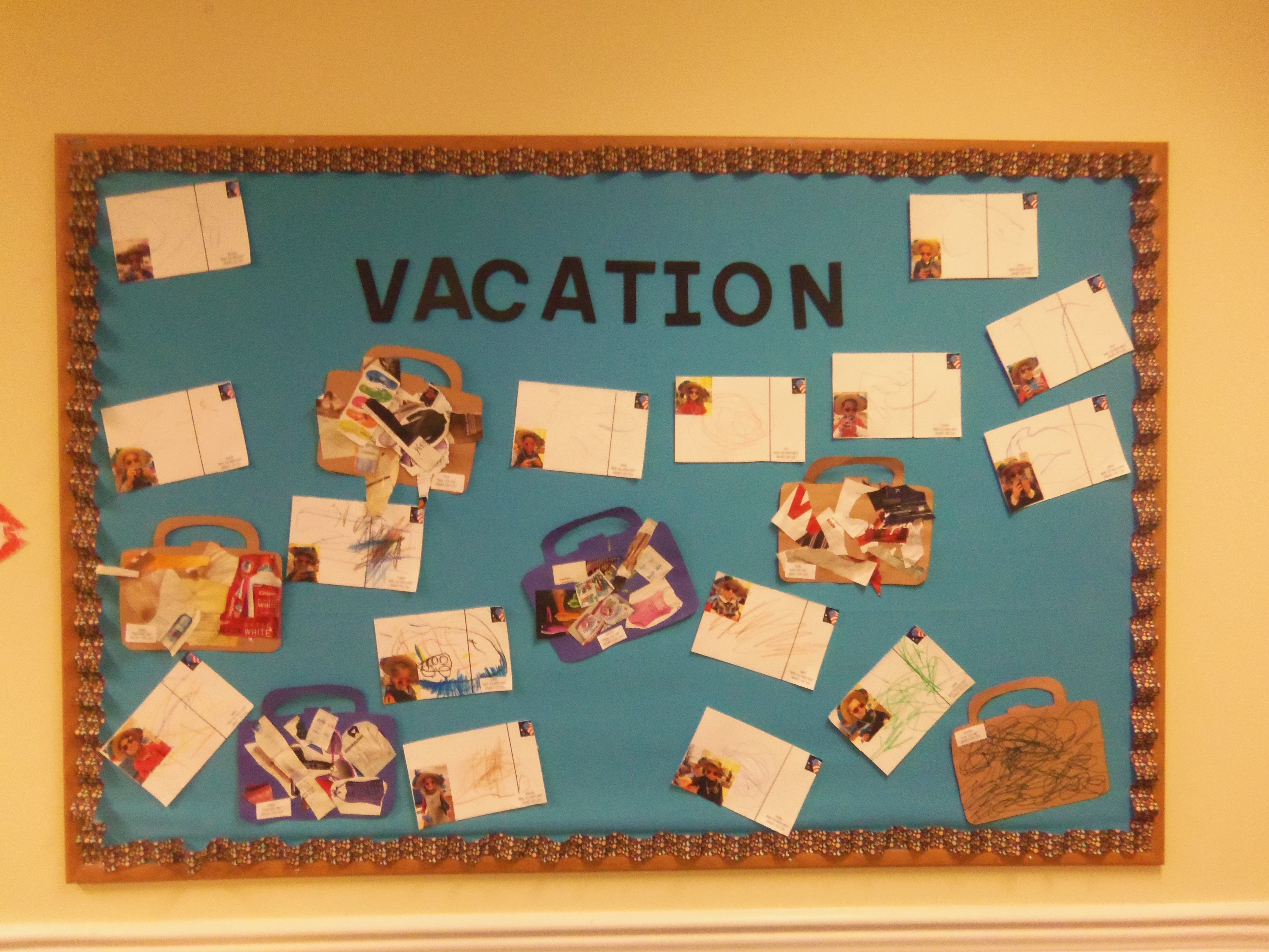 Two Part Art Activity For Travel Lesson Plan First Have