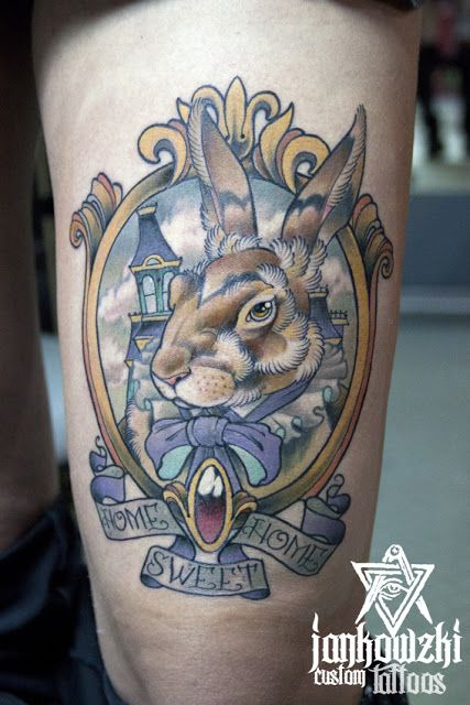 Jankowzki custom Tattoos: Neo traditional tattoos