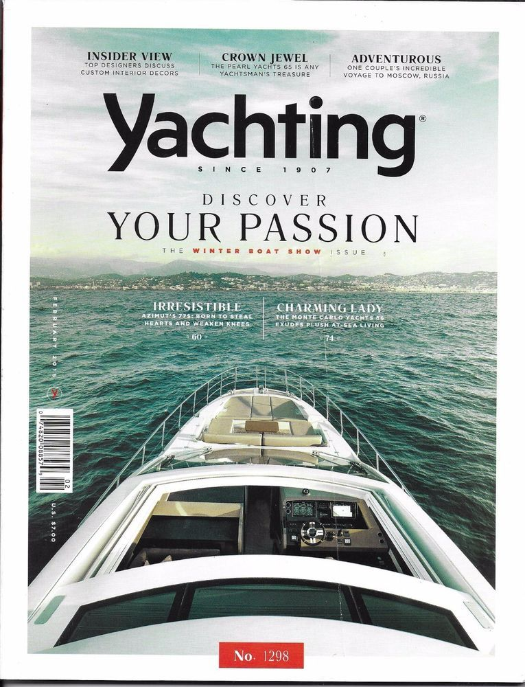 Details About Yachting Magazine Boat Show Monte Carlo Azimut Customer Interior Design Russia
