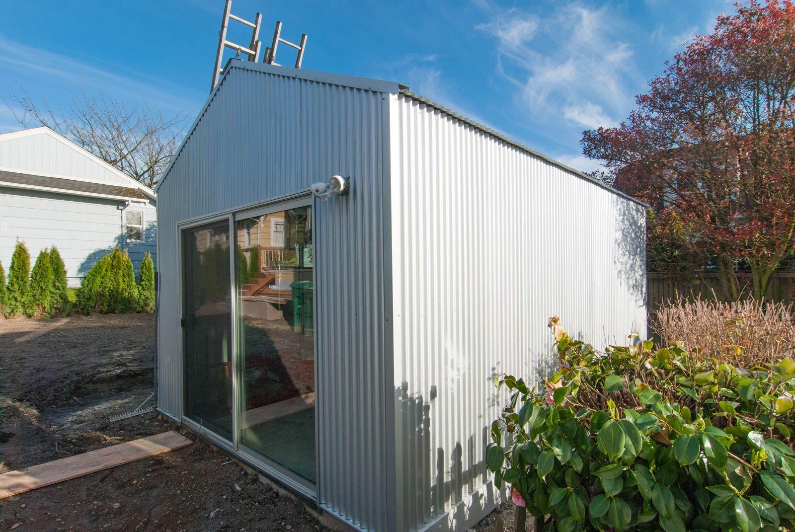 Corrugated Metal Siding Corner Detail