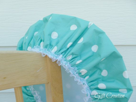 Shower Cap Caribbean Seabreeze Paradise Spa Heaven by GiftCreation, $15.50