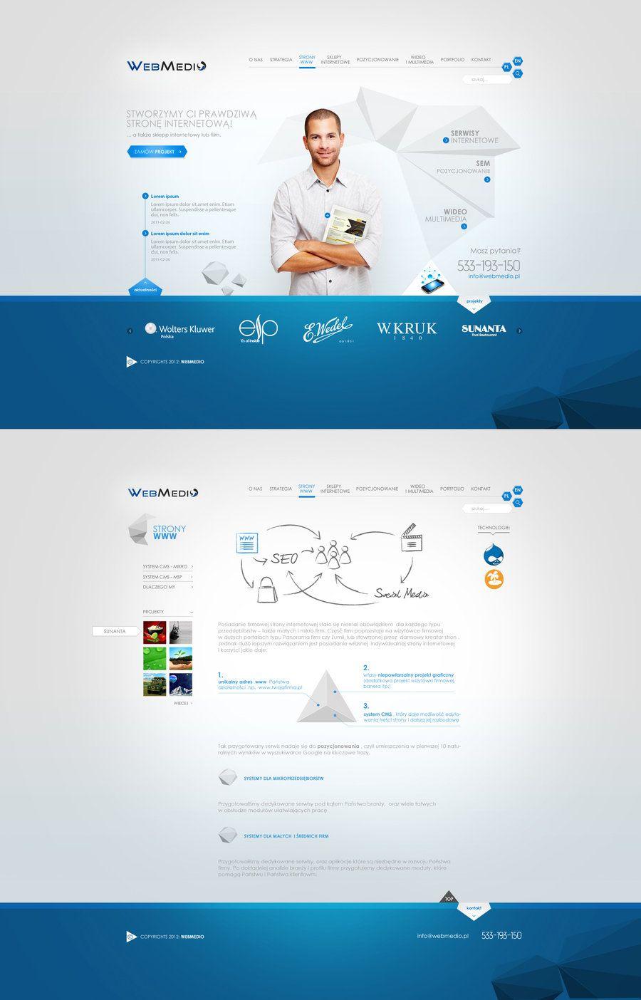 Webmedio 2 By Caduceus26 On Deviantart Wordpress Web Design Web Development Design Web Design Inspiration
