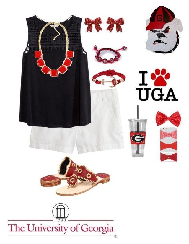 """""""Tailgating Contest"""" by remiii13 ❤ liked on Polyvore featuring J.Crew, H&M, Eagles Wings, Jack Rogers, Humble Chic, Kate Spade, preppyremi and tailgatingcontest"""
