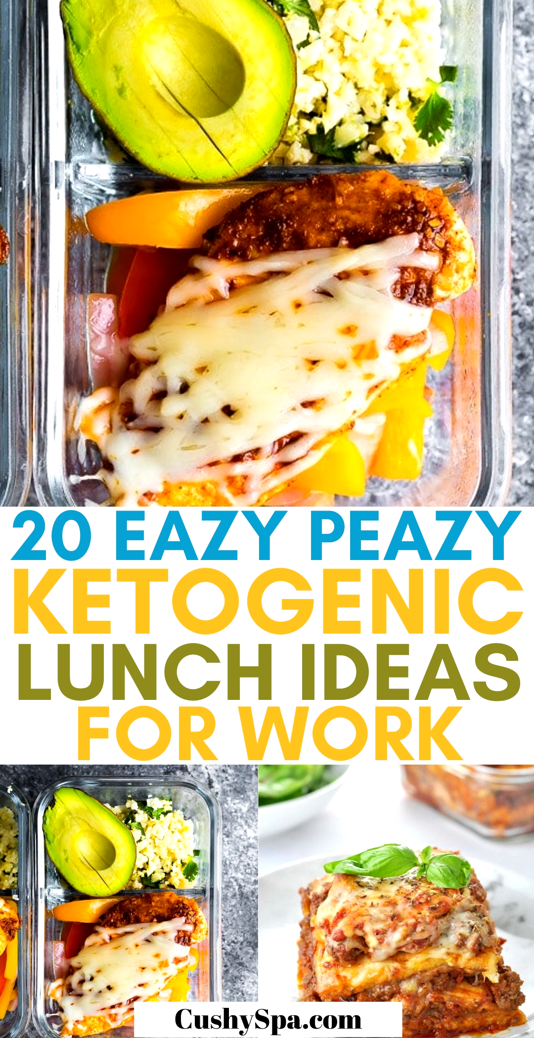 Keto diet for beginners can be difficult and that's where meal prepping comes in handy. Make these keto lunch meals for the week, enjoy your low carb meal prep and stay in ketosis with these keto recipes easier.
